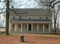 Gansevoort Mansion in Saratoga County, New York.