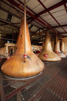 The Stills at Dewar's Aberfeldy Distillery