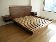 diy bed model without linen
