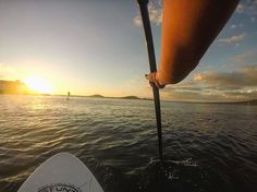 Checked off one of my 16 goals for 2016 tonight at sunset - Paddleboard for my first time  With an unbelievable view of the city. #lululemon #GoalsAndGuac #NewZealand by laurenpark15