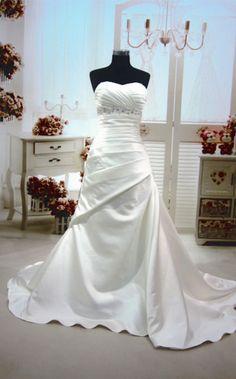 Helen satin mermaid wedding dresses fl-69 - WeddingOutlet.co.nz   Wedding Outlet  Wedding Dresses Online   Bridesmaid Dresses   Wedding Favours