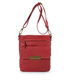 *The Sak* parker leather flap messenger - le sak (I normally don't like messenger bags like this one, but I this one is just adorable!!!)
