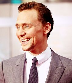 Tom Hiddleston.....seriously, stop being so adorable!