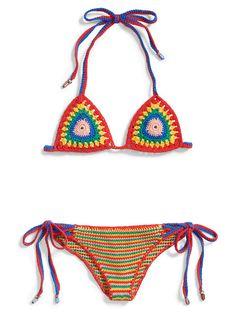 Maillot de bain en crochet Hilfiger Collection