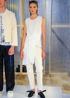 Vladimir Karaleev I FS 2017 SS I White Weiß I Fashion Week Berlin 2016