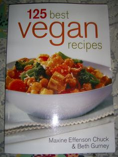 Awesome cookbook!       Vegan Recipes