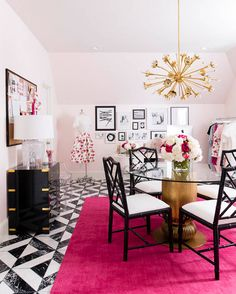 Delicieux Blogger Office. Boutique Office. Pink And Black Office. White And Black  Office.