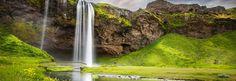 Seljalandsfoss. Waterfall, Iceland