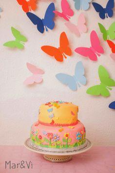 Mar&Vi Creative Studio - Italia: Una festa infantile con aria di primavera