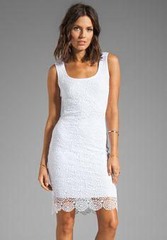 Bailey44 Desert Dress in White