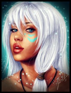 kida - I always thought she was the coolest cause she lived under water...