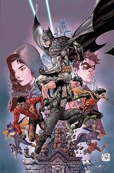 Batman and Robin Eternal #26 Cover Art