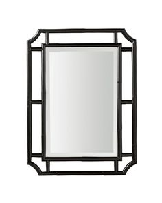 Ojar Mirror - A striking black finish turns this mirror into a statement-maker. It's fresh, it's modern...It's a look that's at home almost anywhere.