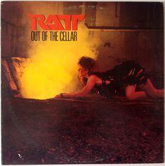 Ratt - Out of the Cellar LP Vinyl Record Album, Atlantic - 80143-1, Hard Rock, Heavy Metal, Glam, 1984, Original Pressing
