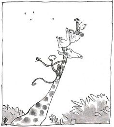 The Giraffe and the Pelly and Me Roald Dahl ~ Quentin Blake ~ Penguin ...