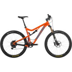 Santa Cruz 5010 X0-1 AM XC Bike 27.5 - $5299 - Santa Cruz offers 5010 X0-1 AM complete bike. With its 27.5 inch wheels and proven FOX suspension, it'll make short work of hairy trails and all-day rides. The SRAM X0-1 drivetrain replaces a front derailleur with a super-wide range 11-speed cassette, for a 1×11 drivetrain that offers up the same gear range as a double. #SantaCruz5010 #XCBike #5010 #Trailbike #ad