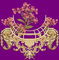 Pakistani Bridal Wear, Design Research, Textiles, Crown, Digital, Flowers, Jewelry, Pakistani Bridal Dresses, Corona