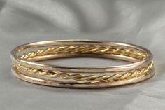 3 Stacking Bracelet 14k Gold handmade Bangle 14k Hammered bangle Bangle Bracelet 14k Yellow Gold Woman Bracelet,Gold Bracelet,Set of three by LIRANSHANI on Etsy https://www.etsy.com/il-en/listing/267239691/3-stacking-bracelet-14k-gold-handmade