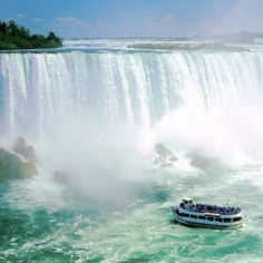 Been & Going back!  Niagara Falls, Ontario, Canada. This time we will go on the Maid of the Mist - Can't wait for the experience of getting so close to the Falls and feeling its power!  AWESOME!!