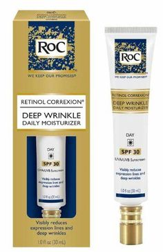 RoC Deep Wrinkle Daily Moisturizer SPF30 1 Oz >>> Check this awesome product by going to the link at the image. (Note:Amazon affiliate link)