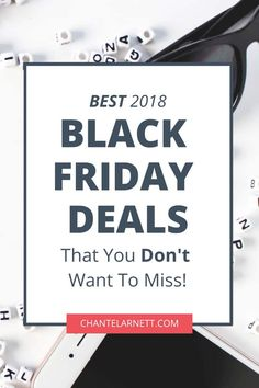 Best Black Friday and Cyber Monday deals for bloggers and online businesses! via @chantel_arnett