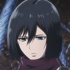 Mikasa Ackerman【Shingeki No Kyojin/Attack On Titan】 Armin, Eren X Mikasa, Attack On Titan Ships, Attack On Titan Anime, Manga Anime, Anime Art, Otaku Anime, Icon Girl, Titan Manga