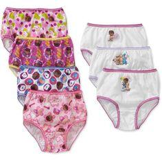 279998144d6f Doc McStuffins Toddler Girls Underwear, 7 Pack - Walmart.com Doc Mcstuffins  Outfit,