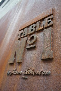 """""""Table No.1"""" identity by Foreign Policy Design  Sign detail"""