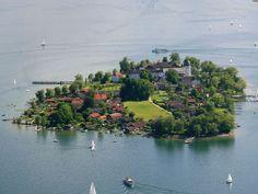 Fraueninsel , Foto: Chiemsee-Alpenland Tourismus, Anita Berger