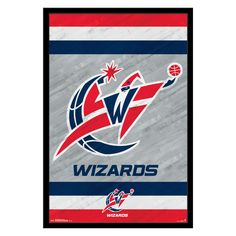 5e39f457488 Trends International Washington Wizards - Logo Wall Poster - 22W x 34H in.