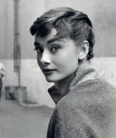 """""""Audrey was known for something which has disappeared, and that is elegance, grace and manners…God kissed her on the cheek, and there she was."""" Billy Wilder"""