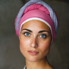 A woman in costume for the Perugia Medieval Summer Festival. Portrait by Steve McCurry.