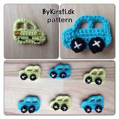Small mosquito net cars / Biler til fluenettet by CraftingByKirsti, $2.00