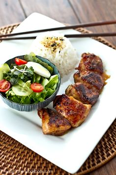 Chicken Teriyaki @justonecookbook.com