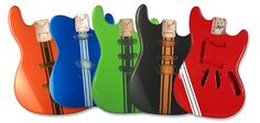 Warmoth Custom Guitar Parts - Paint