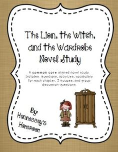 the lion the witch and the wardrobe pdf answer key