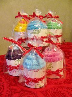 Scrappin' Becky B.: Cute Project Alert!!! Softie Socks Cupcake Tutorial