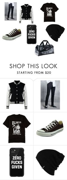 """""""Austin Party out-fit"""" by ashlyn-murphy on Polyvore featuring Urban Classics, 21 Men, Hot Topic, Converse, Casetify, Patagonia, NIKE, men's fashion and menswear"""