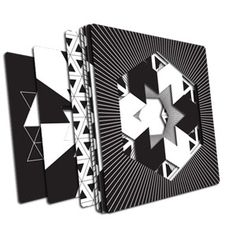Kaleidograph Contrast, plantillas para crear tus propios diseños vanguardistas al alcance de tu mano #LibreriaMPM