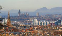 Glasgow,Ben Lomond and Dumgoyne New Zealand Lakes, Ben Lomond, Queenstown New Zealand, Lake Wakatipu, Glasgow, Countryside, Paris Skyline, Scotland, Coast