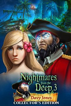 The long-awaited sequel to a terrific hidden object adventure series, Nightmares from the Deep™: Davy Jones, has launched on iOS! And believe it or not, it's even more absorbing than the first two installments!  ***Up to 40% off! (SALE ends at midnight on October 3, 2014.)  Play now on iPad: https://itunes.apple.com/app/id904220568?mt=8 Play now on iPhone: https://itunes.apple.com/app/id904217700?mt=8