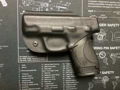 M&P Shield Smith and Wesson 40/9mm Custom Kydex Holster / IWB / Concealed Carry / Right Handed - BLACK  Find our speedloader now!  www.raeind.com  or  http://www.amazon.com/shops/raeind