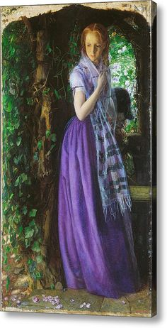 April Love Acrylic Print By Arthur Hughes