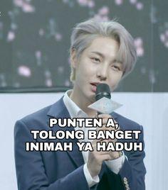 Funny Kpop Memes, Exo Memes, Cute Memes, Meme Faces, Funny Faces, Barbie Jokes, Cute Inspirational Quotes, Cartoon Jokes, Korean Aesthetic