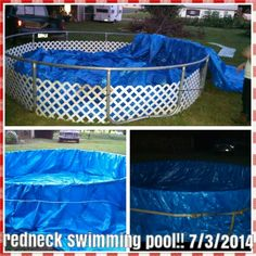 Our 1st redneck swimming pool!!!