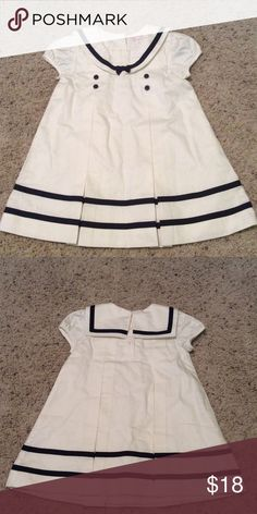 Baby sailor dress Baby sailors dress in blue and white with built in slip in size 6 to 12 months Dresses Casual