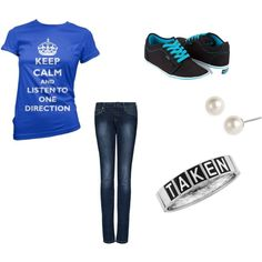 One Direction, created by cchsladytigers23 on Polyvore