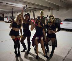 Happy purging 🔪 #halloween #purgecostume Trio Costumes, Cute Group Halloween Costumes, Halloween Outfits, Halloween Ideas, Halloween Party, Pretty Summer Dresses, White Dress Summer, Little White Dresses, High Street Dresses