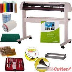 1. 53″ USCutter SC Series Vinyl Cutter Bundle with Design & Cut Software