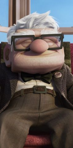 Carl ~ One of my favorite Disney/Pixar guys